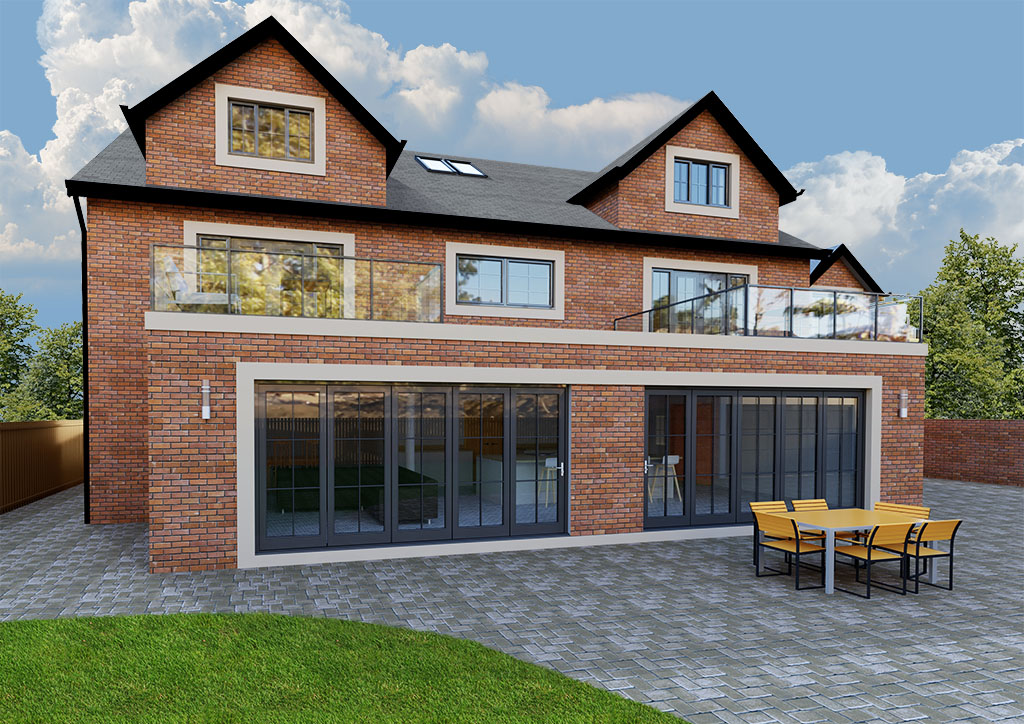 Self build design Great Park Gosforth Acre Design Architect Newcastle