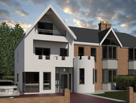 Seaburn, extension, front extension