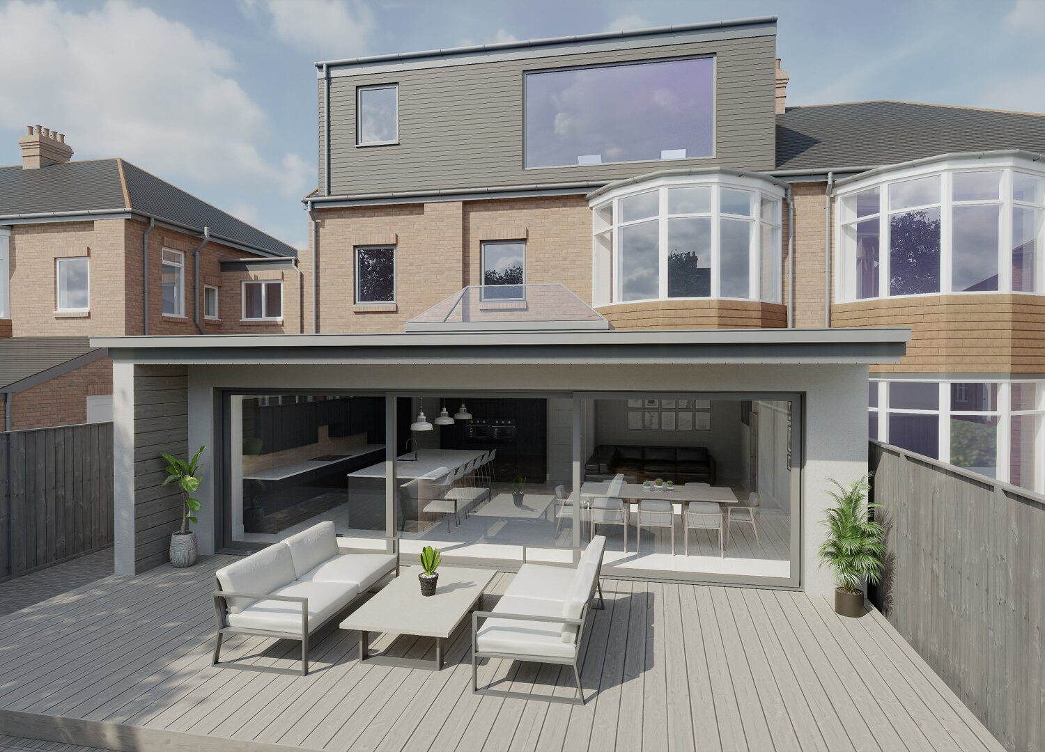 Loft conversion and single storey extension, Whitley Bay, Newcastle Upon Tyne